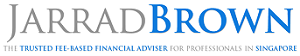 Jarrad Brown – Fee-Based Financial Adviser for Australian Expats in Singapore Logo