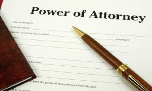 Power of Attorney - Jarrad BRown
