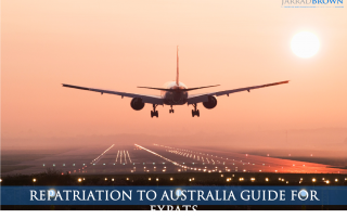 Expat's Guide to Repatriation to Australia - Jarrad Brown - Financial Planner to Aussie Expats in Singapore