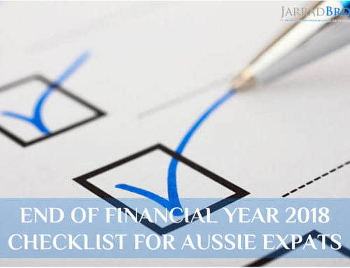 Aussie Expat End of Financial Year Checklist 2018