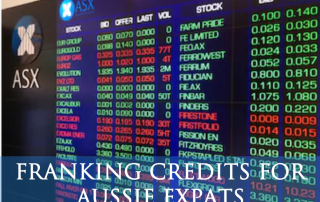 Franking Credits for Aussie Expats - Jarrad Brown - Financial Planner for Aussie Expats in Singapore