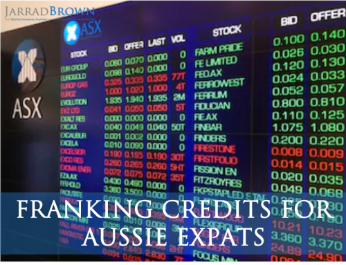 Franking Credits for Aussie Expats