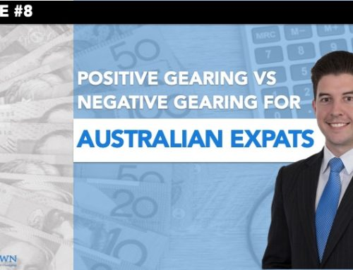 Video – Positive vs Negative Gearing for Australian Expats