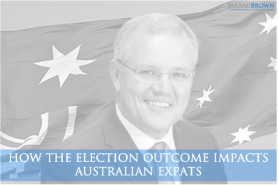 2019 Australian Election for Expats - Jarrad Brown - Financial Planner to Australian Expats in Singapore