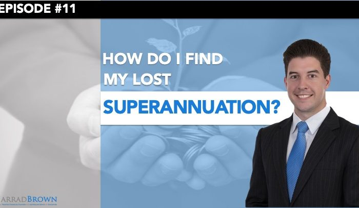 Episode 11 - Finding My Lost Superannuation Thumbnail
