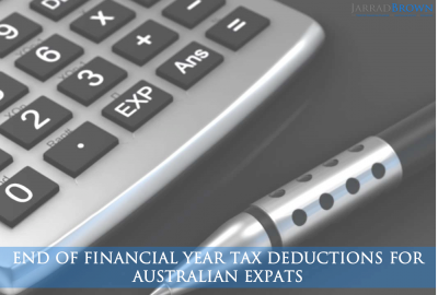 End of Financial Year 2019 Checklist for Australian Expats - JARRAD BROWN - Australian Expat Financial Planner
