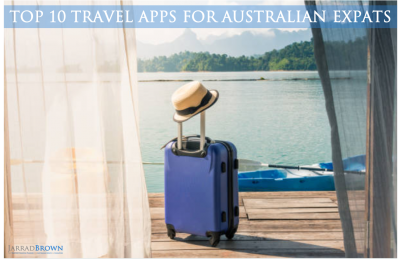 Top 10 Travel Apps for Jetsetting Australians - Jarrad Brown - Financial Planner to Australian Expats