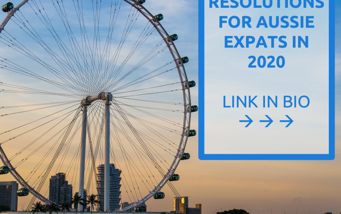 New Year Resolutions for Australian Expats 2020 - Jarrad Brown - Financial Planner to Australian Expats in Singapore