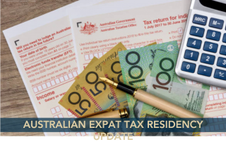 Australian Tax Residency & COVID-19 - Update - Jarrad Brown - Australian Expat Financial Planner
