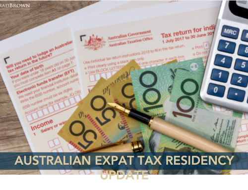 Australian Expat Tax Residency – June 2020 Update