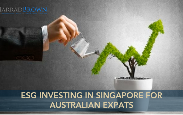 ESG Investing in Singapore as an Australian Expat - Jarrad Brown - Australian Expat Financial Planner