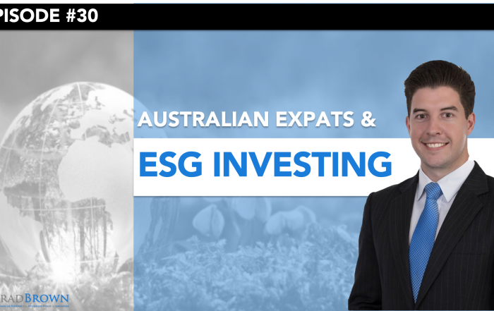 Episode 30 - ESG Investing for Australian Expats